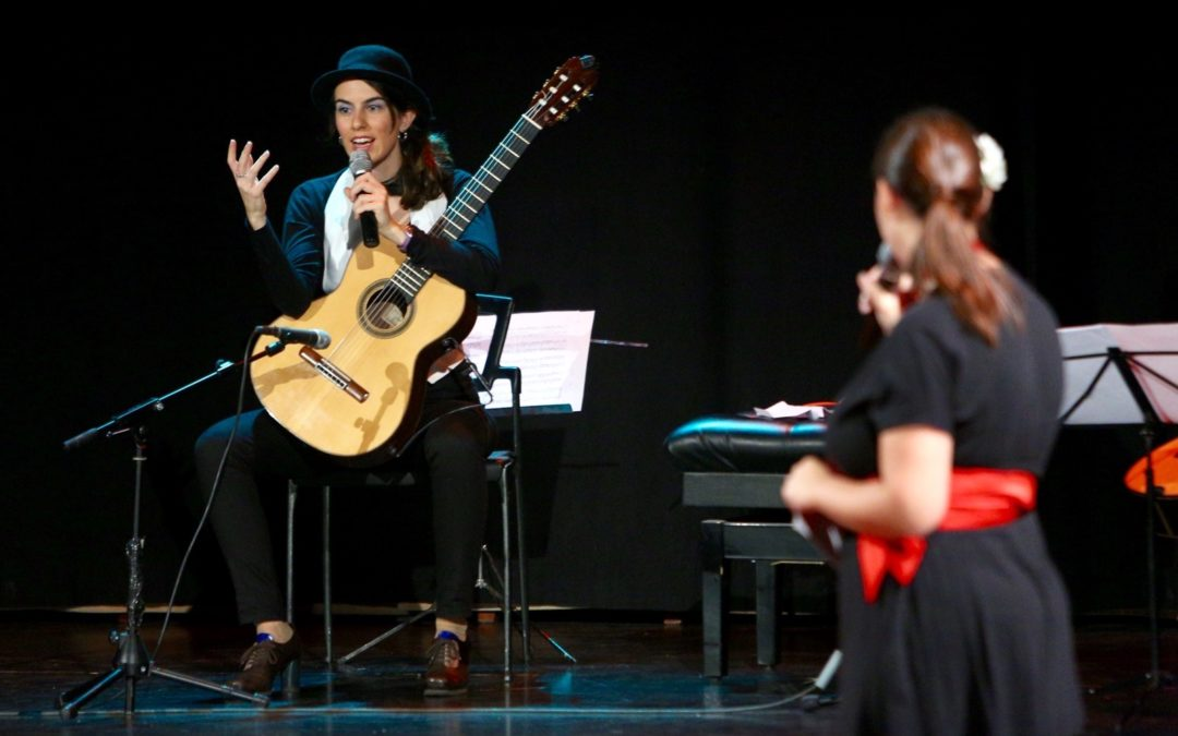 'Desde España a las Américas', recital didáctico que fomenta el conocimiento de la guitarra española entre los alumnos de primaria y secundaria