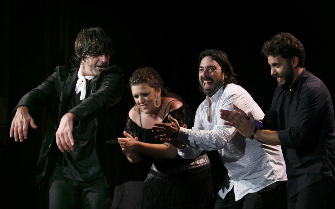 Rotundo éxito de Joaquín Grilo en los Jueves Flamencos de la Fundación Cajasol