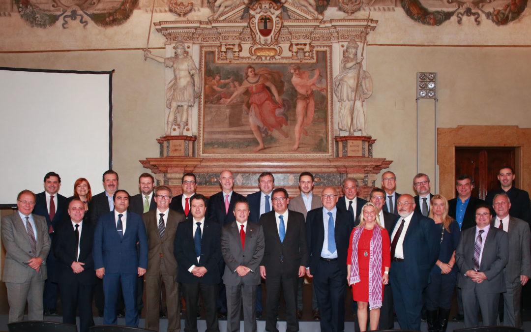 Antonio Pulido preside el XXXII Congreso de PIGNUS en Bolonia