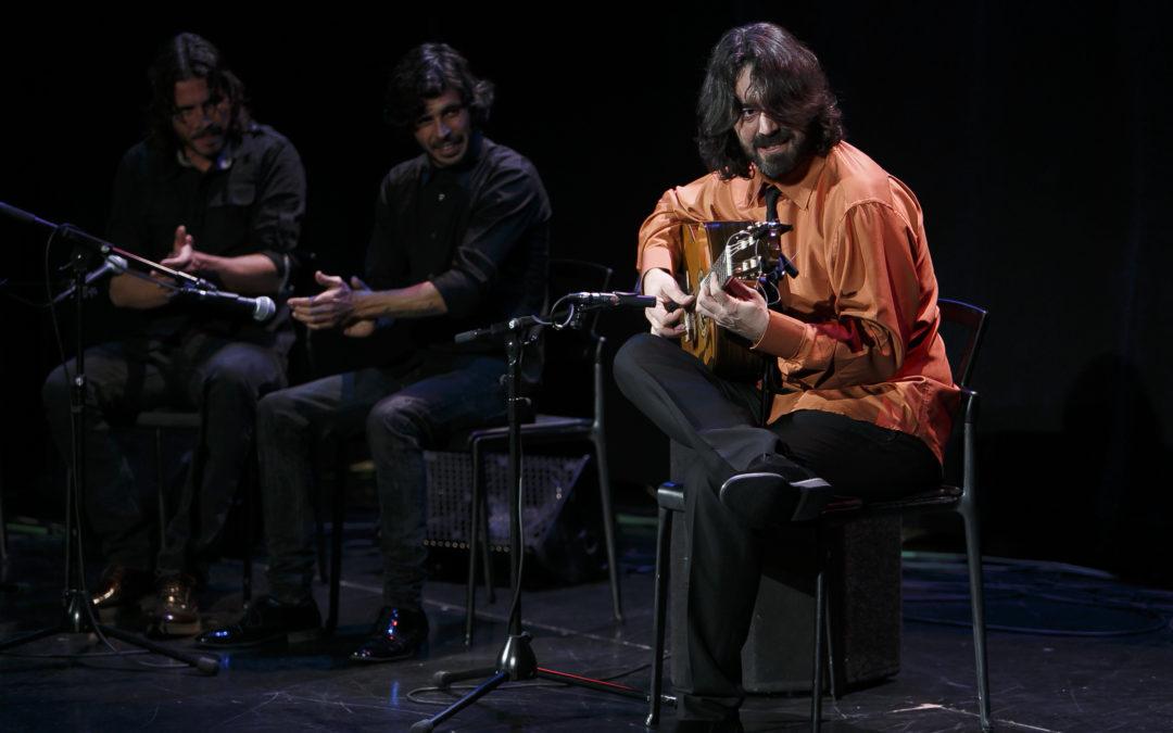 Juan Requena cierra las actuaciones del mes de noviembre en los 'Jueves Flamencos' de la Fundación Cajasol