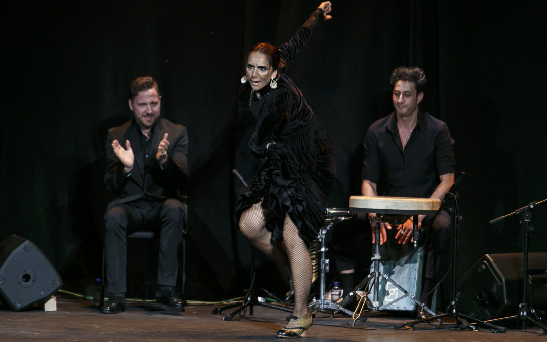 La versión más 'Indómita' de Manuela Ríos en los Jueves Flamencos de la Fundación Cajasol