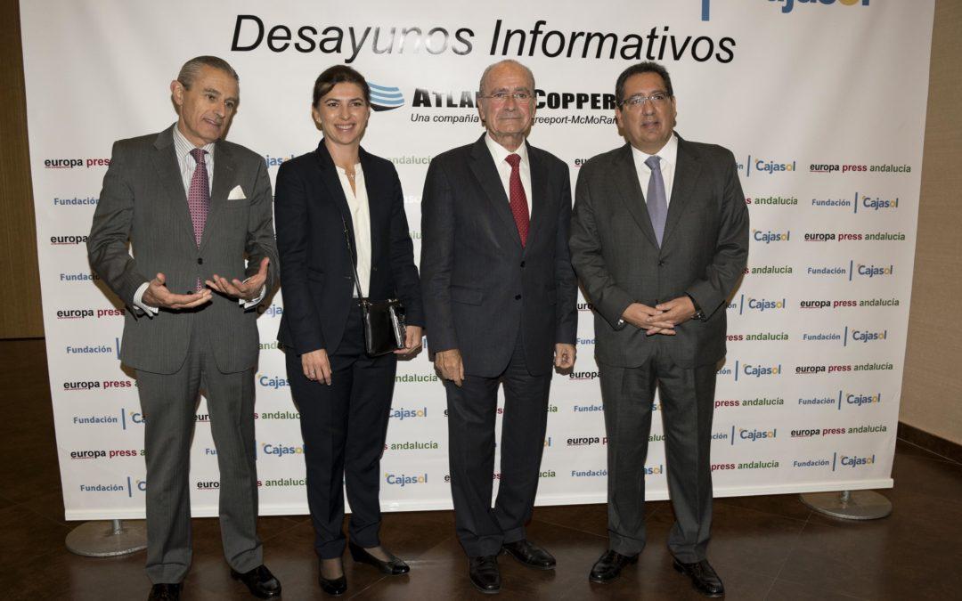 """Antonio Pulido: """"Para la Fundación Cajasol es una gran satisfacción incrementar año tras año sus actividades en Málaga"""""""