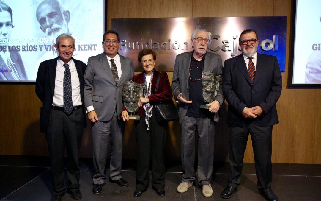 La Fundación Cajasol y CEDIS Andalucía entregan los Premios 'Giner de los Ríos y Victoria Kent'