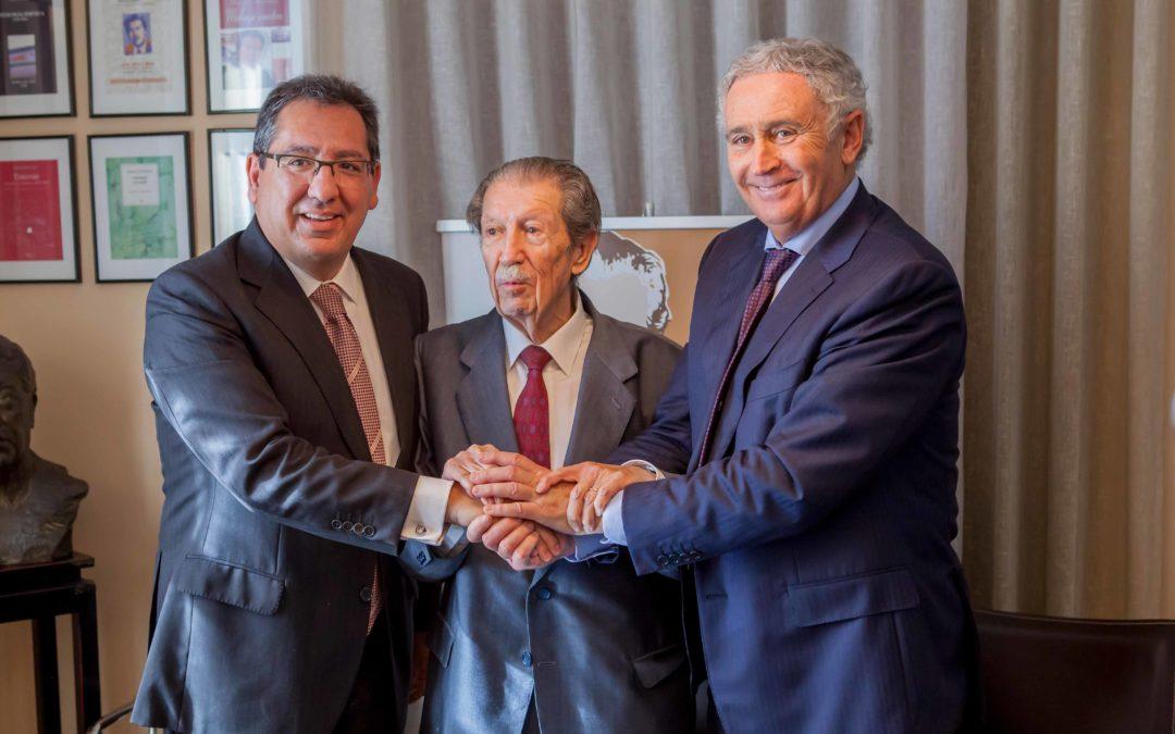 Importante convenio de colaboración entre la Fundación Cajasol y la Fundación Manuel Alcántara