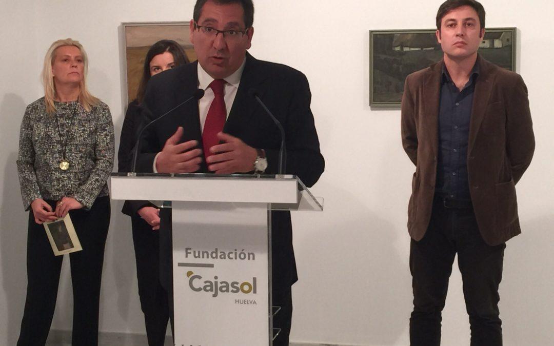 La Fundación Cajasol inaugura la nueva Sala de Exposiciones José Caballero en su sede de Huelva