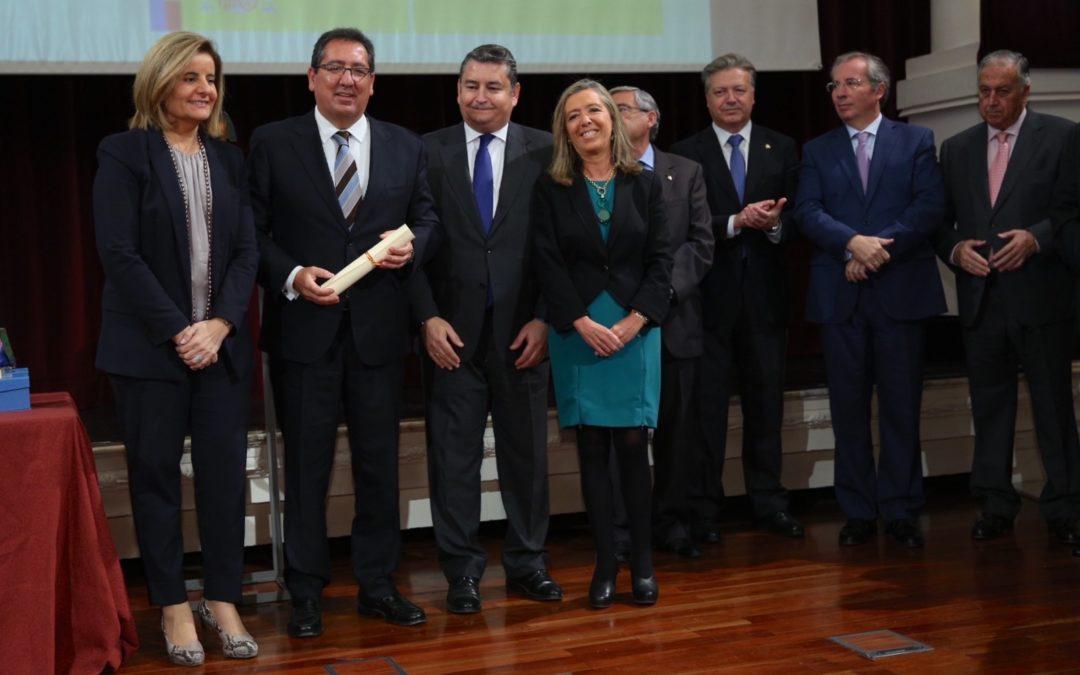 La Fundación Cajasol recibe una mención especial en los III Premios Menina Andalucía contra la violencia de género