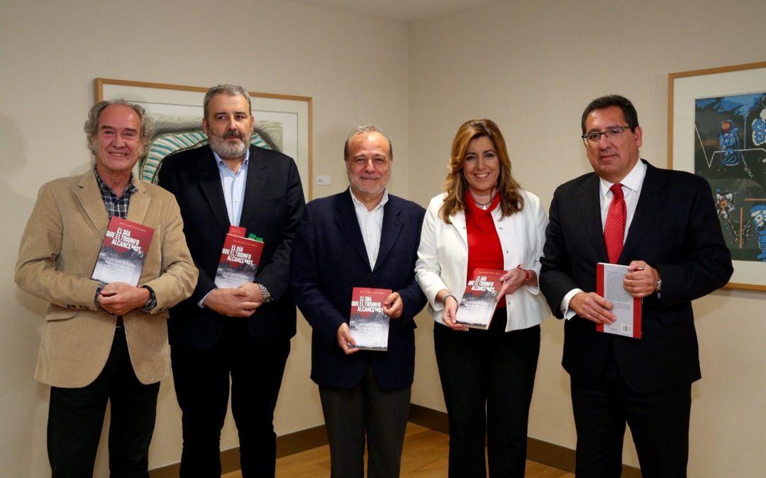 Presentación del libro 'El día que el triunfo alcancemos', escrito por José Andrés Torres Mora