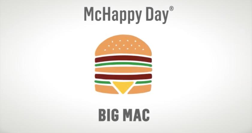 ¡Apúntate al McHappy Day este viernes 20 de noviembre!