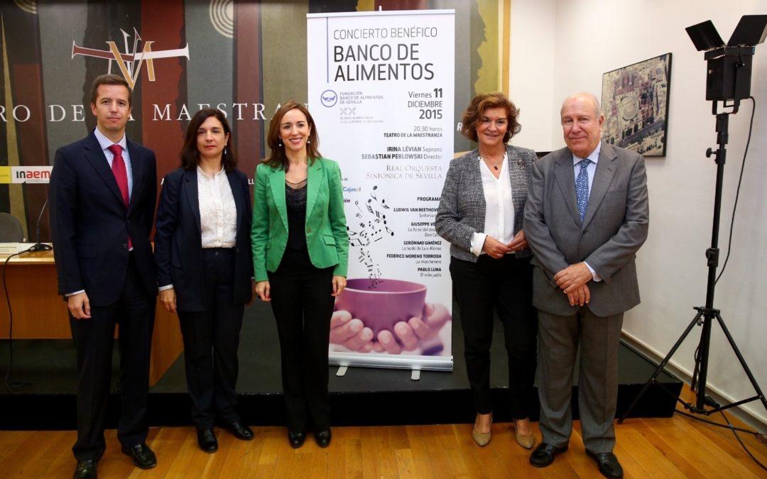 La Fundación Cajasol se une al concierto solidario a beneficio de la Fundación Banco de Alimentos de Sevilla