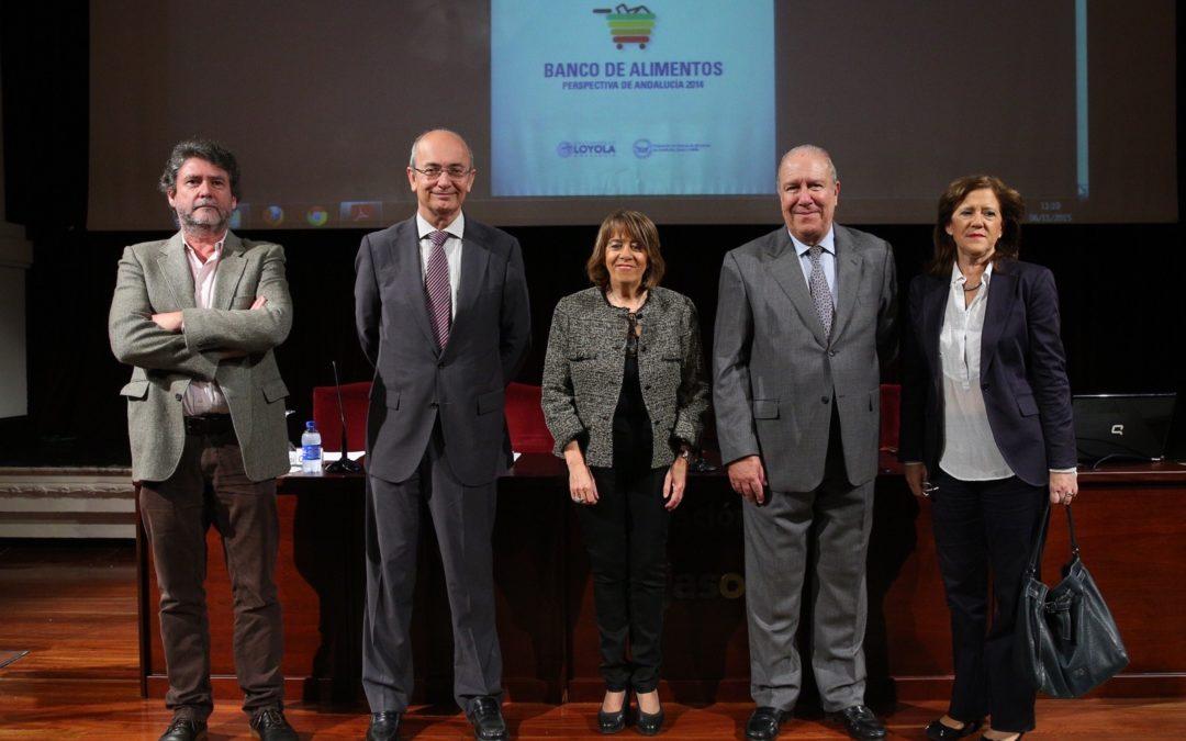 La Fundación Cajasol acoge la presentación del informe anual de la Federación de Bancos de Alimentos de Andalucía