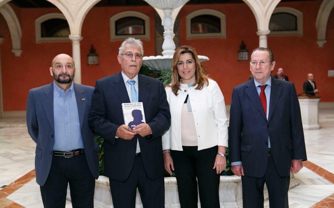 Presentación del libro 'Memoria de una lucha clandestina' en la Fundación Cajasol