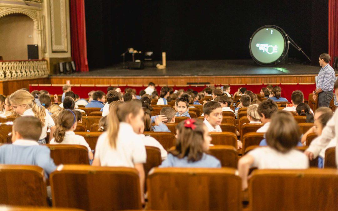 Cerca de 2.000 estudiantes asistirán a la representación de 'El Arca de Noé' en el Gran Teatro Falla