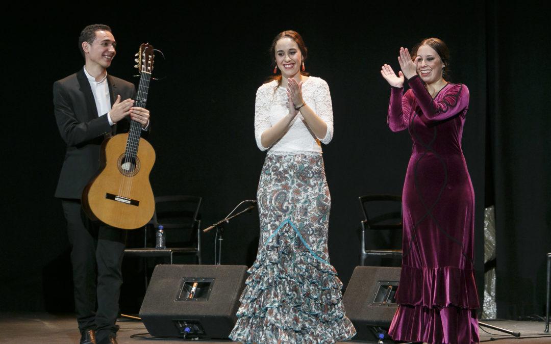 La bailaora Irene Rueda, la cantaora Rocío Luna y el guitarrista Álvaro Mora: 'Futuro perfecto' en los Jueves Flamencos