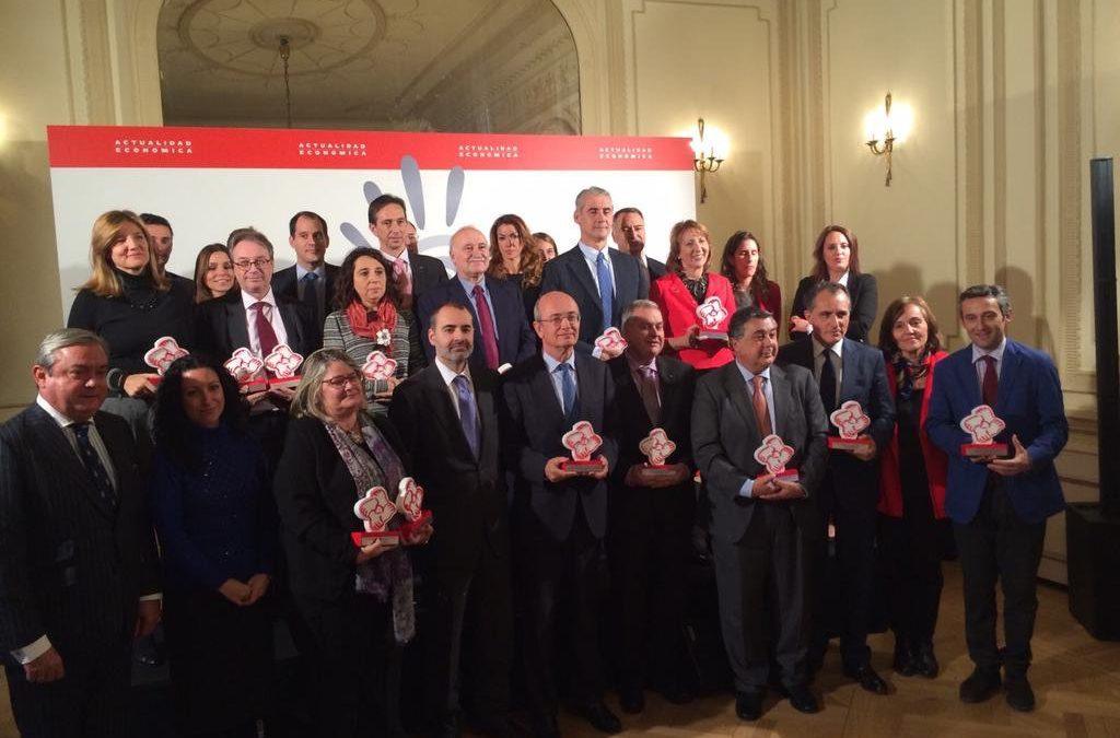 La Fundación Cajasol, premiada por su Plan de Educación Financiera