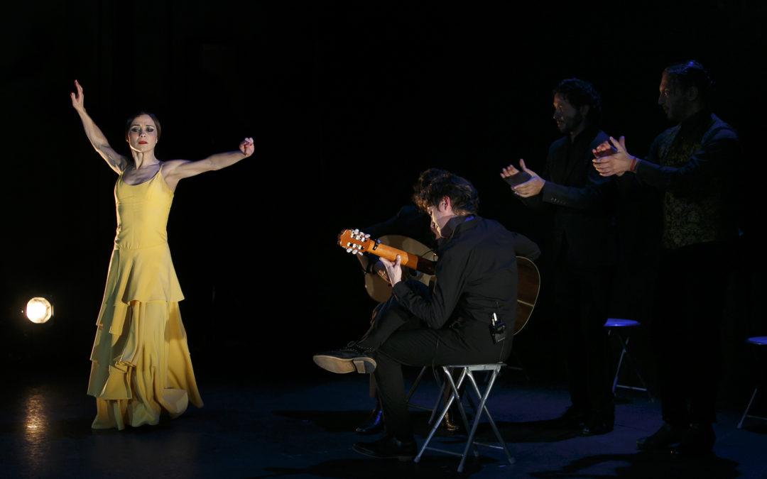 Espectáculo sencillo y muy íntimo de Olga Pericet con 'De una pieza' en los Jueves Flamencos