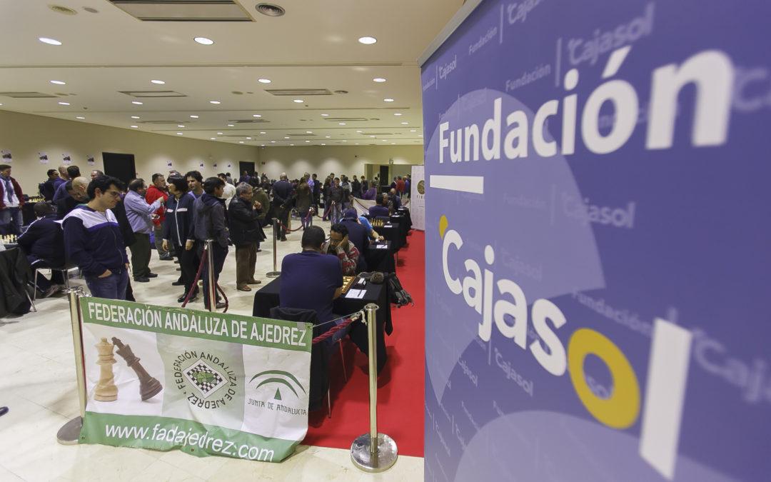La Fundación Cajasol colabora con el LXI Abierto Internacional de Ajedrez 'Ciudad de Sevilla'