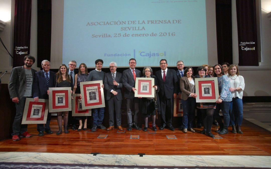 Emilio Morenatti, XXIV Premio de la Comunicación de la Asociación de la Prensa de Sevilla