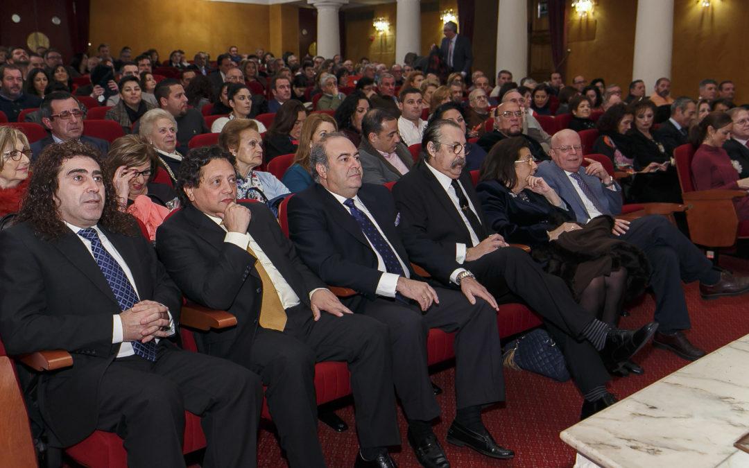 Homenaje a Pascual González y Cantores de Híspalis en la Fundación Cajasol