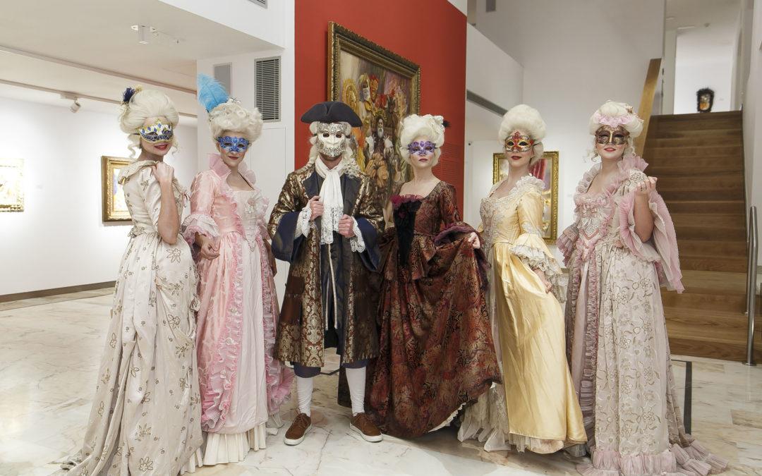 Exposición de Juan Valdés sobre 'Divertimento veneziano' en la Fundación Cajasol