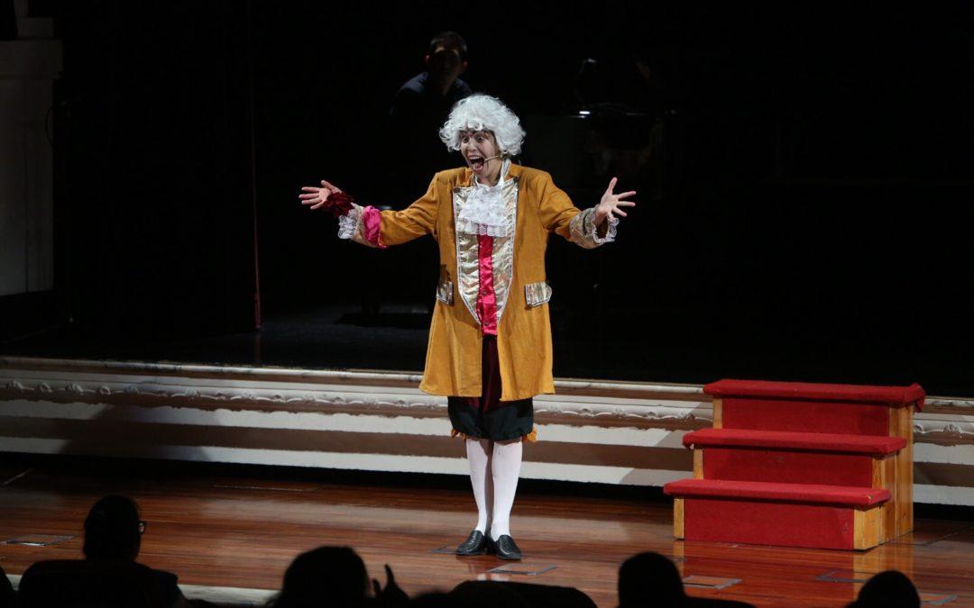La ópera sigue siendo 'cosa de niños' en la Fundación Cajasol