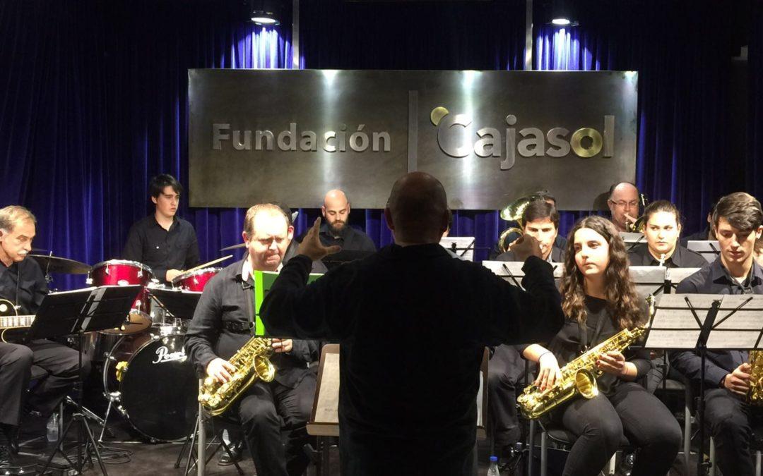 La Big Band de Aljaraque trae sus ritmos clásicos americanos a la Fundación Cajasol