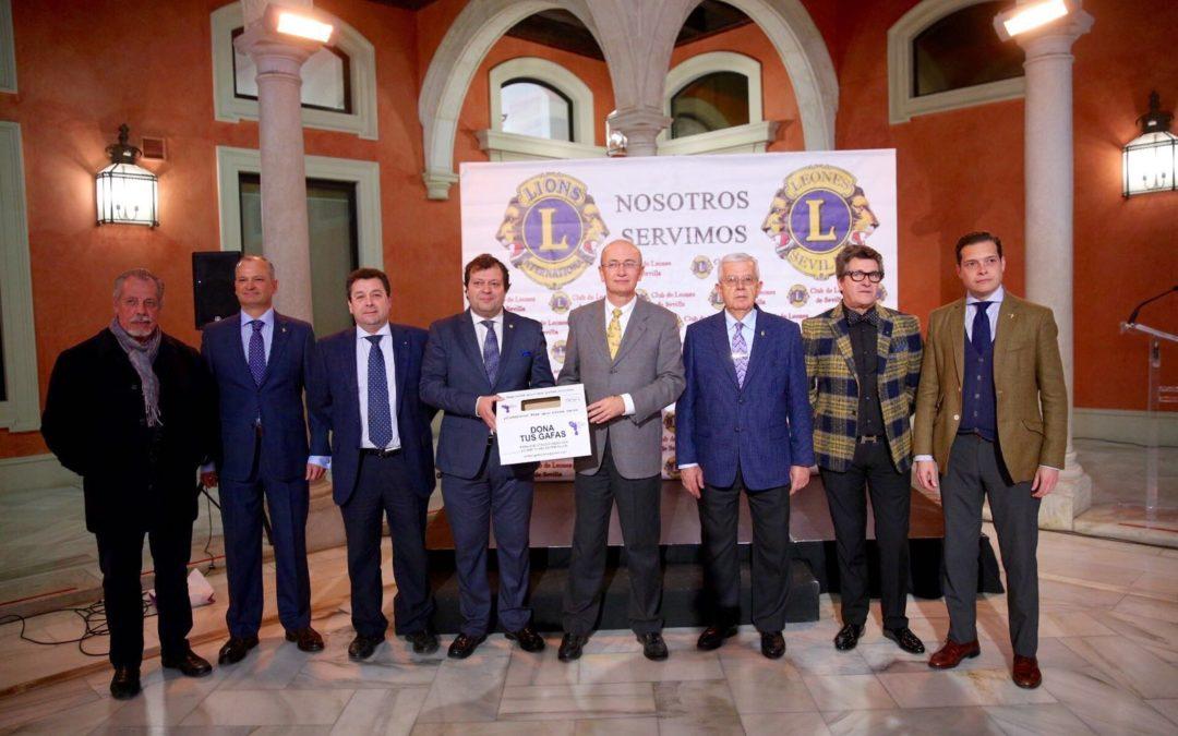 Presentación de proyectos solidarios que pone en marcha Club de Leones de Sevilla