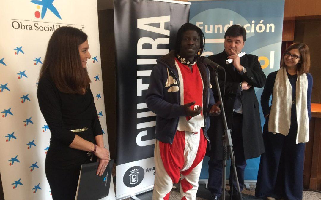 Más de 1.100 escolares asisten en Huelva al espectáculo 'Teranga. El legado de los griots de Senegal'