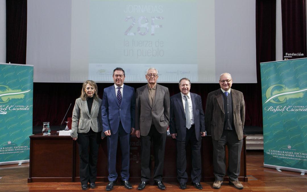 Jornadas '28F. La fuerza de un pueblo' en la Fundación Cajasol
