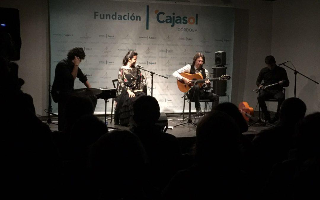 Manuel de la Luz actúa en el Ciclo 'Conocer el Flamenco' de la Fundación Cajasol en Córdoba