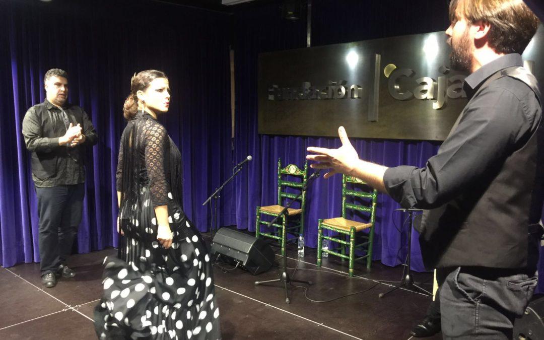 El arte de la bailaora María Canea, en el Ciclo 'Conocer el Flamenco' de la Fundación Cajasol en Huelva