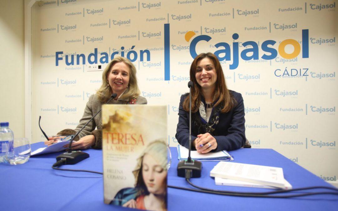 Presentación de la novela histórica 'Teresa. La mujer', de Helena Cosano, en la Fundación Cajasol