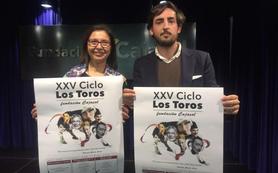 El XXV Ciclo 'Los Toros' de la Fundación Cajasol en Huelva, los días 1, 2 y 7 de marzo