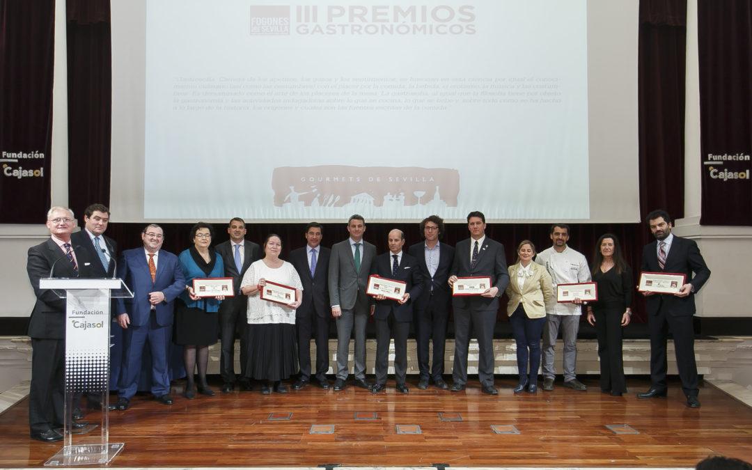 Entrega de los III Premios Fogones de Sevilla en la Fundación Cajasol