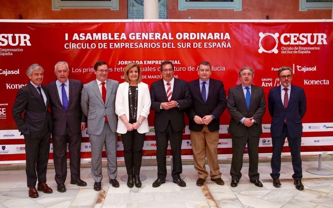 'Los principales retos actuales del futuro de Andalucía', a debate en la Fundación Cajasol de la mano de CESUR