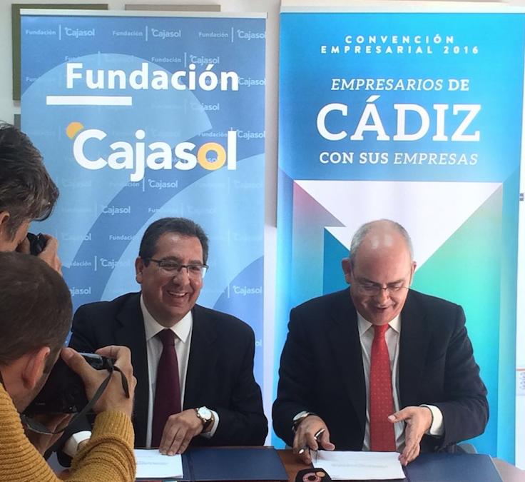 """Antonio Pulido, protagonista en el ciclo 'Café con…' de la CEC: """"Debemos presentar a Andalucía y a Cádiz como tierra de futuro"""""""