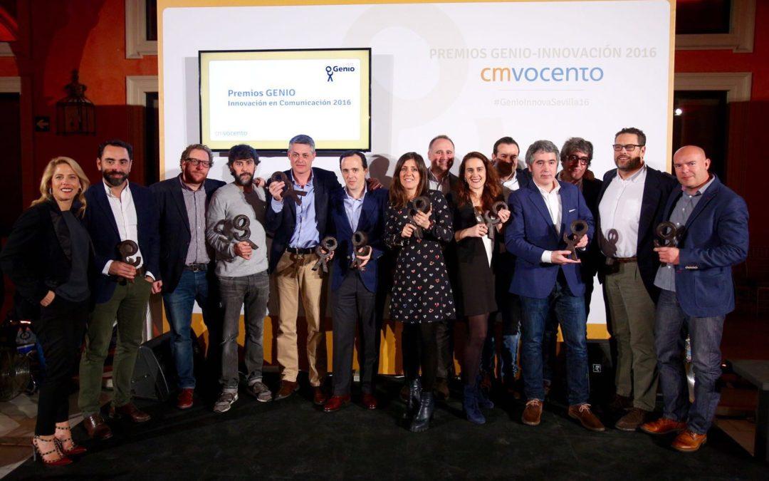 Gala de entrega de los IX Premios Genio Innovación 2016 en la Fundación Cajasol