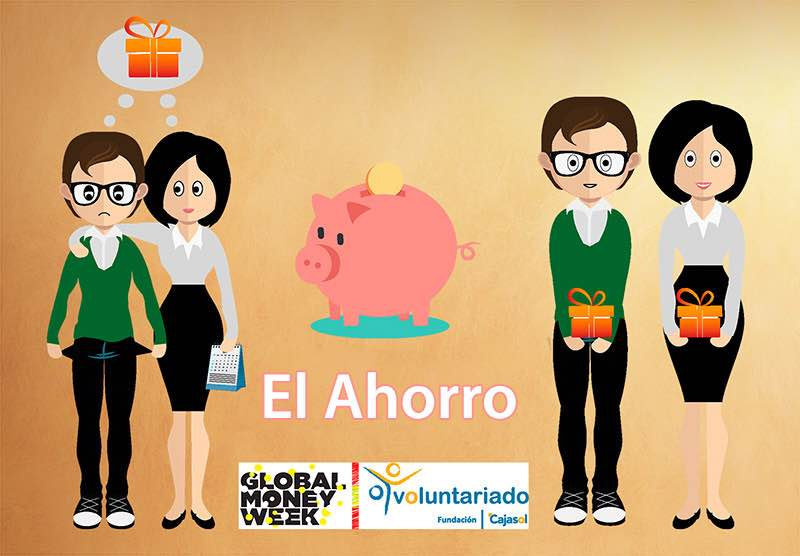 Infograma de la Fundación Cajasol sobre la Global Money Week