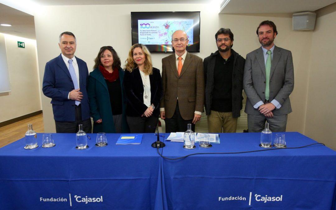 Presentación del III Programa '100 Caminos al Éxito' en la Fundación Cajasol