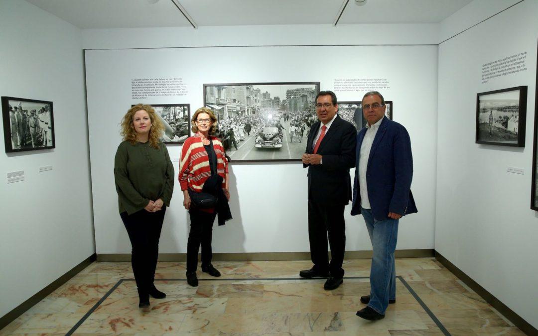 La Fundación Cajasol inaugura la nueva exposición que rinde homenaje al fotoperiodista Enrique Meneses