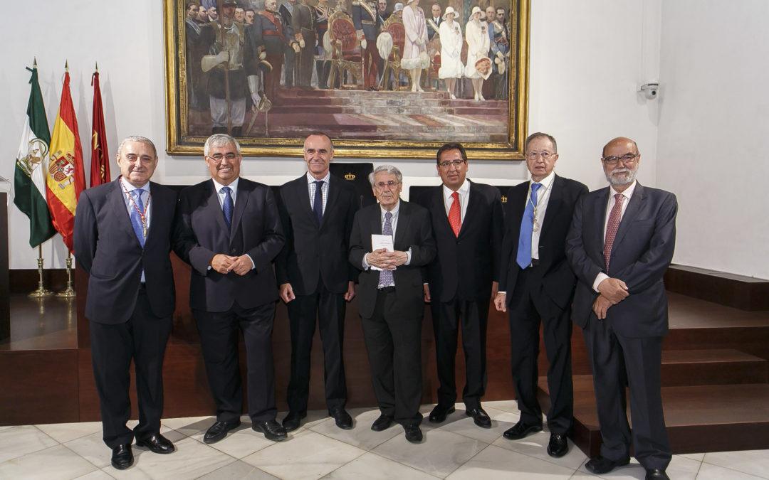 """Antonio Pulido: """"El Instituto de Academias de Andalucía ha cumplido 30 años de historia cumpliendo fielmente el cometido con el que se constituyó"""""""