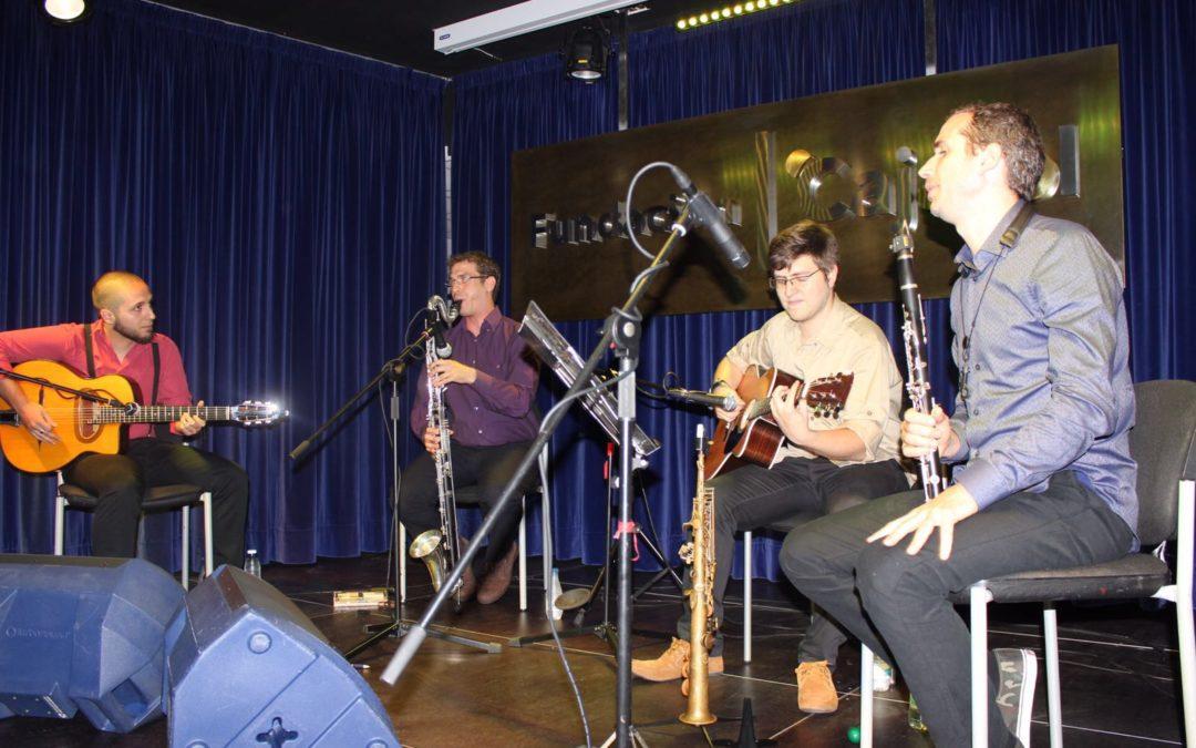 'Bow, Reed & Pick' trae su jazz manouche de los años 30 a 'Los Jueves en la Cuarta' de la Fundación Cajasol