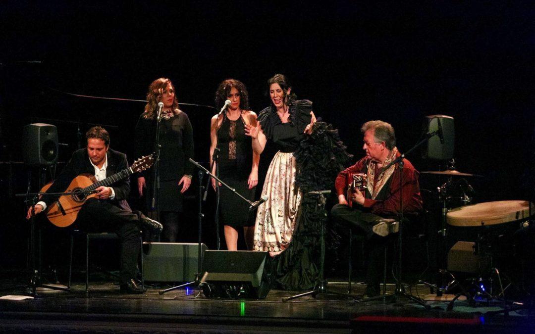 Laura Vital estrena su disco 'Tejiendo lunas' en los Jueves Flamencos