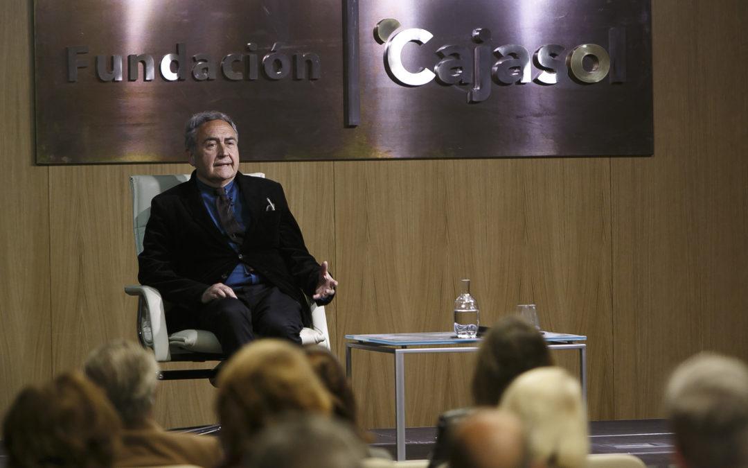 Conferencia de Vicente Molina Foix en la Fundación Cajasol