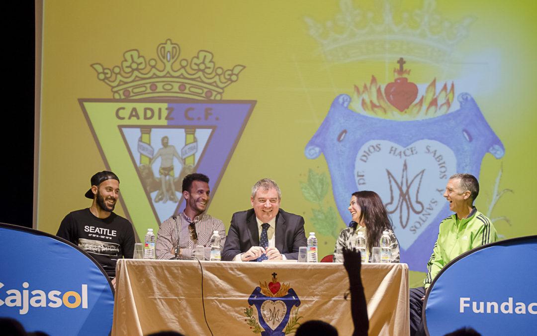 Fundación Cajasol y Cádiz CF: deporte y valores en las aulas