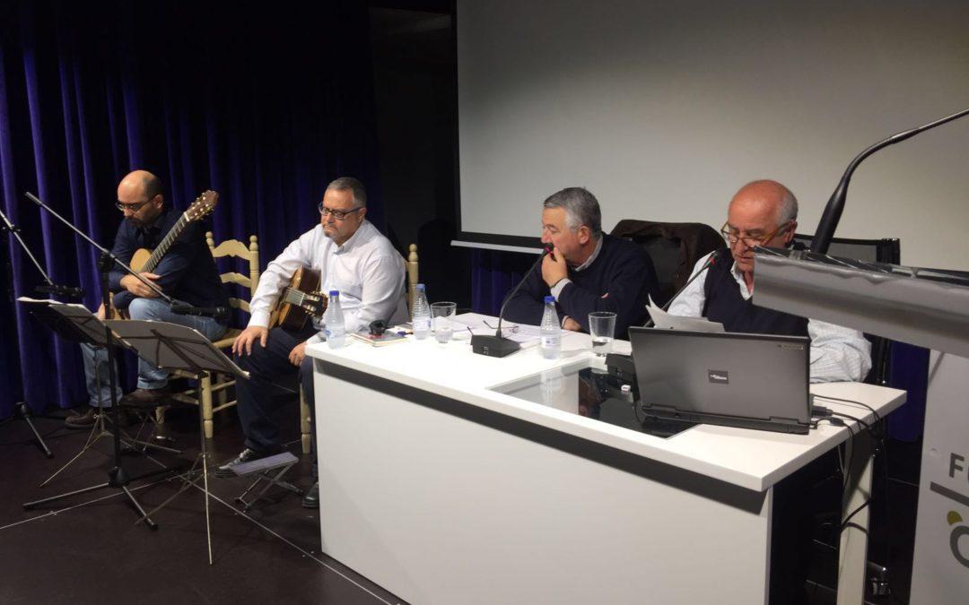 Pedro Javier Martín Pedrós presenta su poemario 'Abriendo ventanas' en la sede de la Fundación Cajasol en Huelva