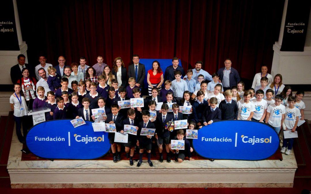 III Concurso 'Pequeños Emprendedores' de Thamer Creative School en la Fundación Cajasol