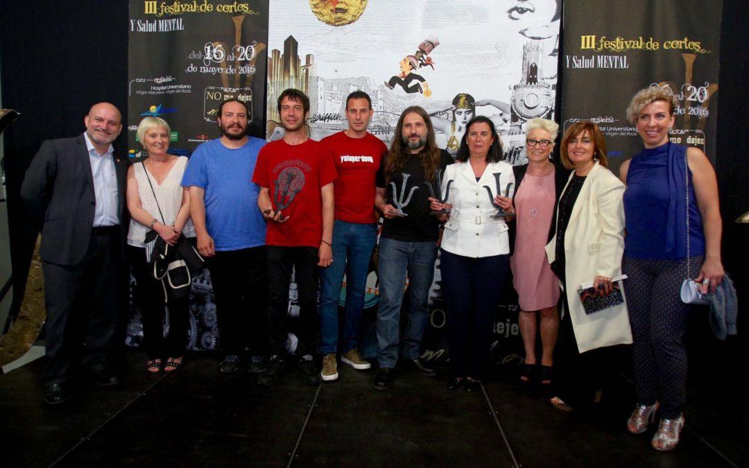 La entrega de los cinco premios a los mejores trabajos clausura el III Festival de Cortos y Salud Mental
