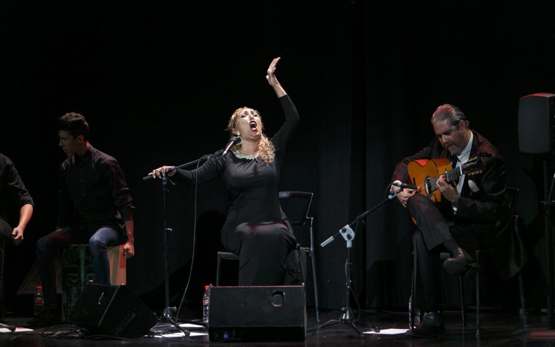 El cante de Esperanza Fernández clausura el ciclo de Primavera 2016 de los Jueves Flamencos en Sevilla
