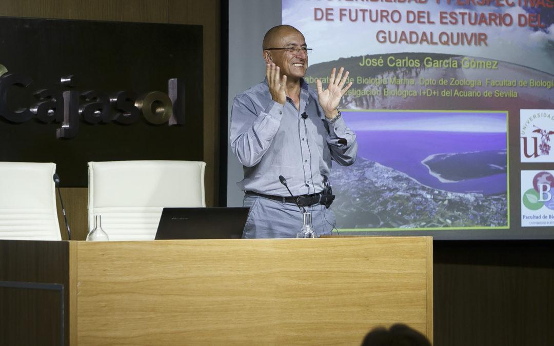 Conferencia de José Carlos García en la Fundación Cajasol