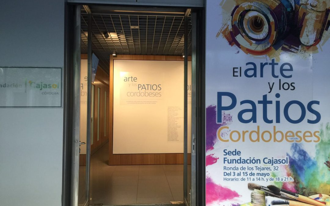 La Fundación Cajasol pone en marcha la exposición 'El arte y los Patios Cordobeses'